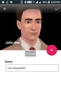 SayHi Messenger screenshot 5