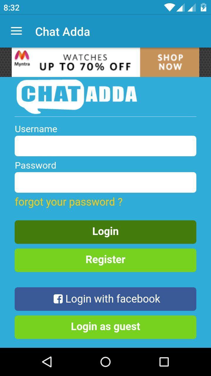 Chat Adda - Indian Chat Rooms para Android - APK Baixar