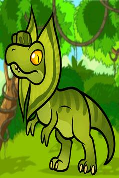 Dino Color Kids poster