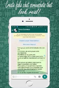 Whats Fake Chat Maker (Fake Text Messages) screenshot 2