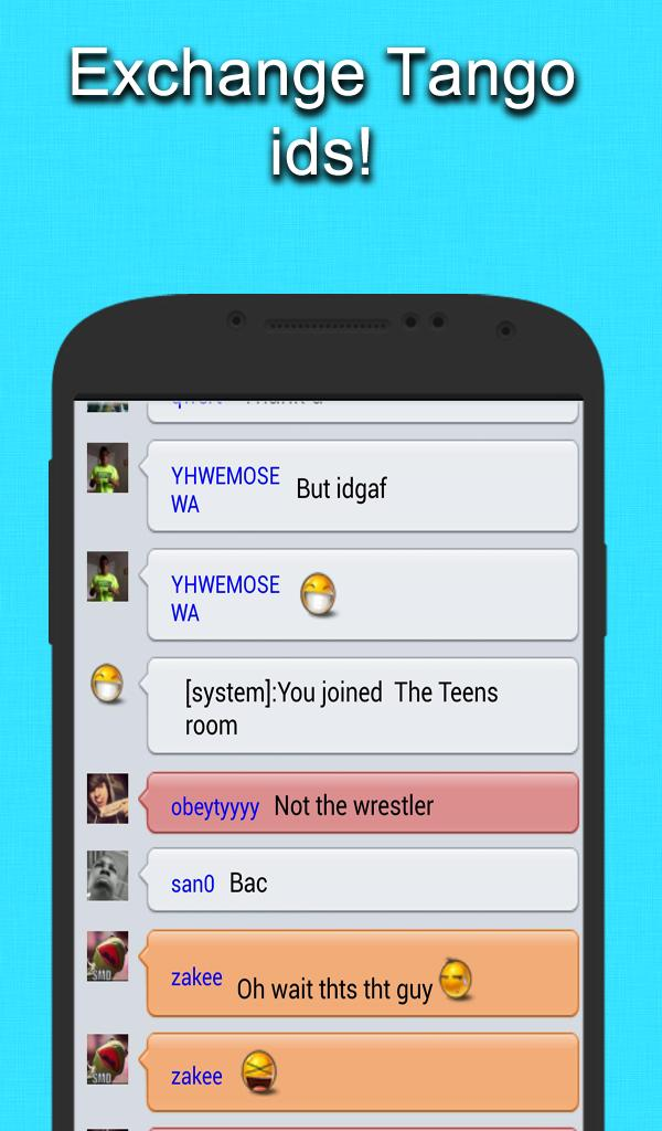 Chat Rooms for Tango for Android - APK Download