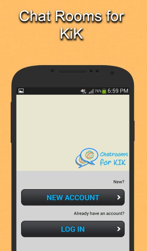 how to find kik on android