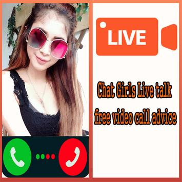 Chat Girls Live talk free video call advice poster