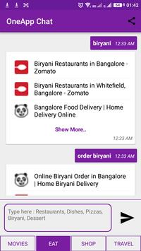 OneApp - Chat Search apk screenshot