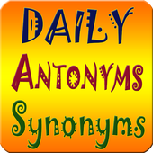 Antonyms Synonyms  One-Word Substitution (offline) icon
