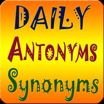 Antonyms Synonyms  One-Word Substitution (offline) poster