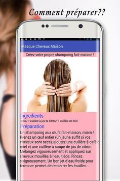 Masque Cheveux Maison screenshot 17