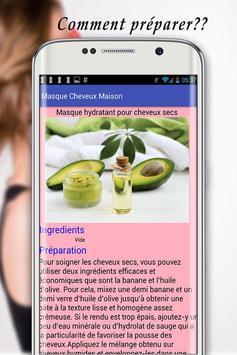 Masque Cheveux Maison screenshot 12