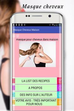 Masque Cheveux Maison screenshot 1