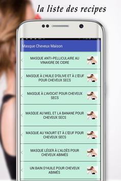 Masque Cheveux Maison screenshot 2