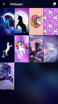 Pony Unicorn Pattern Lock Screen apk screenshot