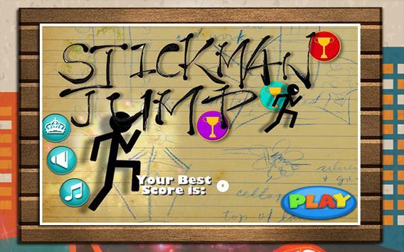 Stickman Jump Games poster