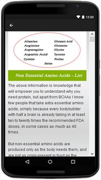 Amino Acids apk screenshot