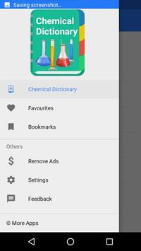 Chemical Dictionary poster