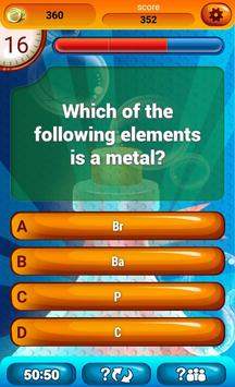 Chemistry Trivia Game apk screenshot