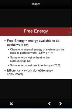 Chemistry Enthalphy Formulas screenshot 5