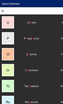 Easy Symbol Of Element screenshot 1