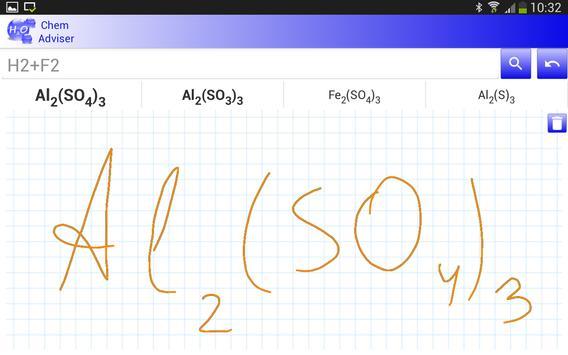 Chemistry Advisor apk screenshot