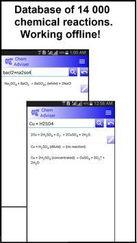 Chemistry Advisor poster