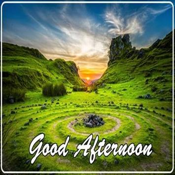 Good afternoon greetings for android apk download good afternoon greetings poster m4hsunfo