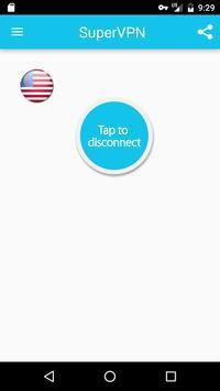 Super VPN - 免费秒连VPN代理、翻墙、加速器 apk 截图