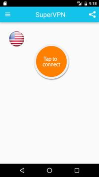Super VPN - 免费秒连VPN代理、翻墙、加速器 海报