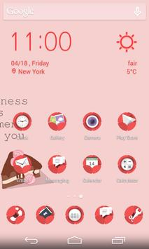 Flat Rose Icons & Wallpapers apk screenshot