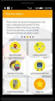 Guide for Chennai Metro Route, Map, Fare poster