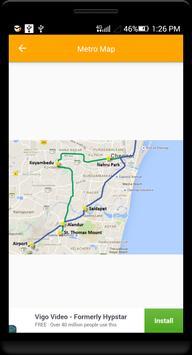 Guide for Chennai Metro Route, Map, Fare screenshot 1