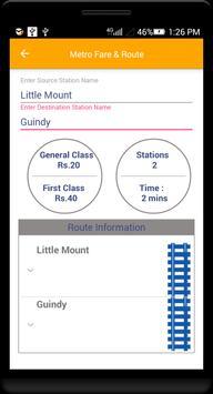 Guide for Chennai Metro Route, Map, Fare screenshot 2