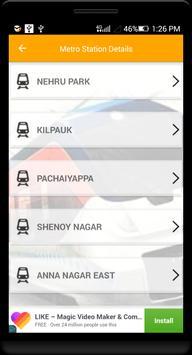 Guide for Chennai Metro Route, Map, Fare screenshot 3