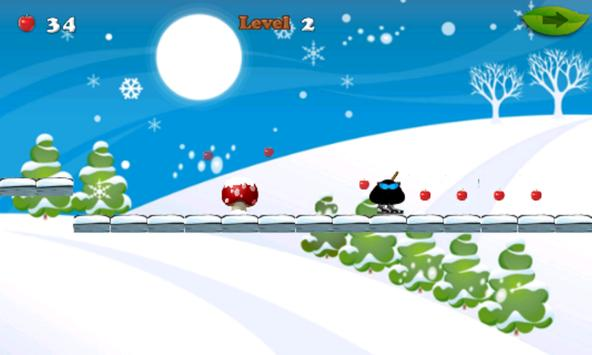 Ninja Pet Moo Ski Rush apk screenshot