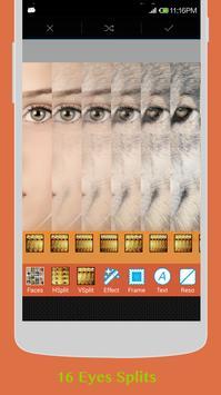 Insta Eyes with Collage apk screenshot