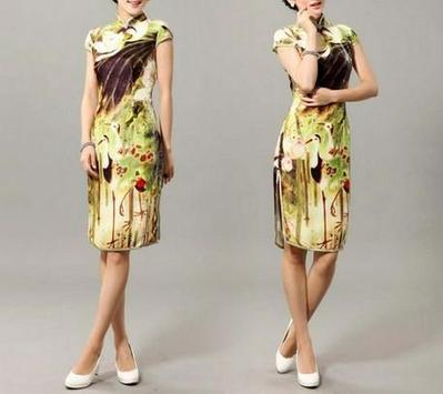 Cheongsam Chines Dress Fashion poster