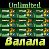 Cheat Banana Kong (Free Unlimited Banana Coins) icon