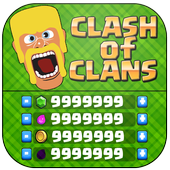 Gems & Gold For Clash Of Clans icon