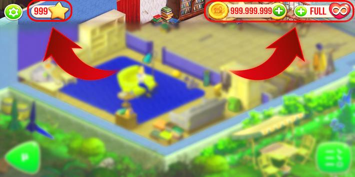 Cheats Gardenscapes 2 Prank poster
