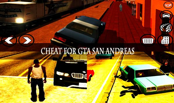 Code Cheat for GTA San Andreas apk screenshot