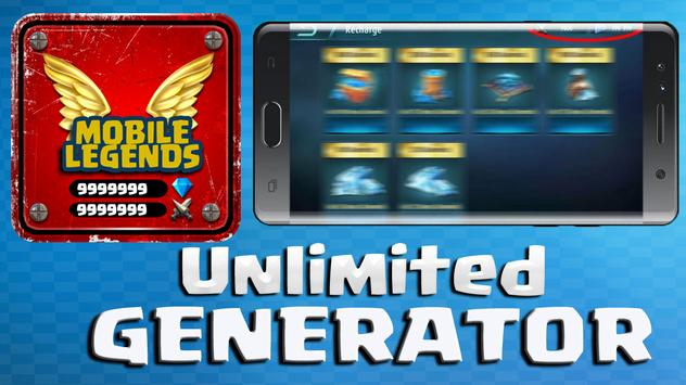 Hack Unlimited Mobile Legends Diamond - App Prank! for Android - APK