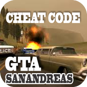 Cheat Code GTA SanAndreass icon