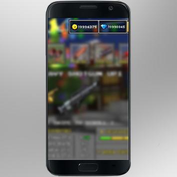 Cheat for Pixel Gun 3D Prank screenshot 2