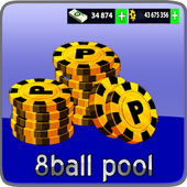 Latest Cheats for 8-ball pool (free coins & cash) icon