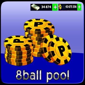 Latest Cheats for 8-ball pool (free coins & cash) poster