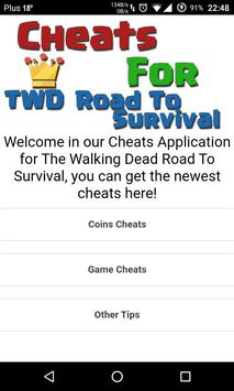 Cheats TWD Road To Survival poster