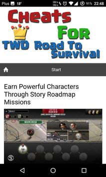 Cheats TWD Road To Survival screenshot 1