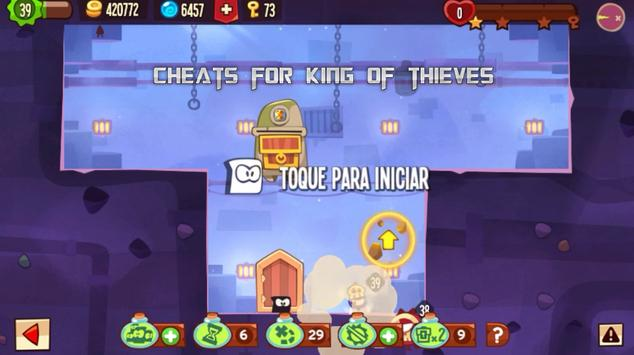 Cheats For King Of Thieves screenshot 6