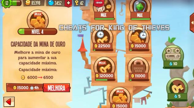 Cheats For King Of Thieves screenshot 8