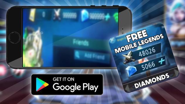 Cheat Mobile Legends Diamond : Prank apk screenshot