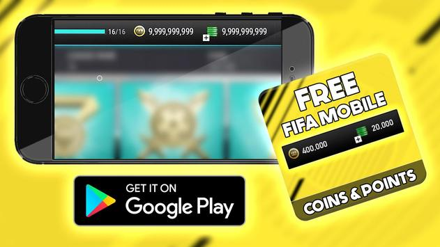 Free Points Fifa Mobile Hack : Prank apk screenshot