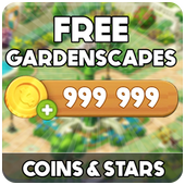Free Coins Gardenscapes  Cheats : Prank icon